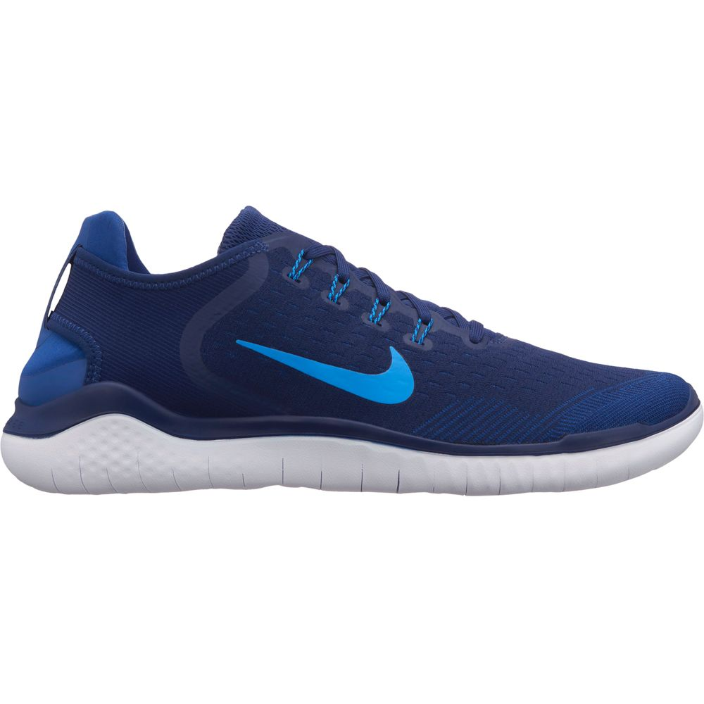 03b7004c309e1 Nike - Free RN 2018 Running Shoes Men blue void photo blue indigo fo ...