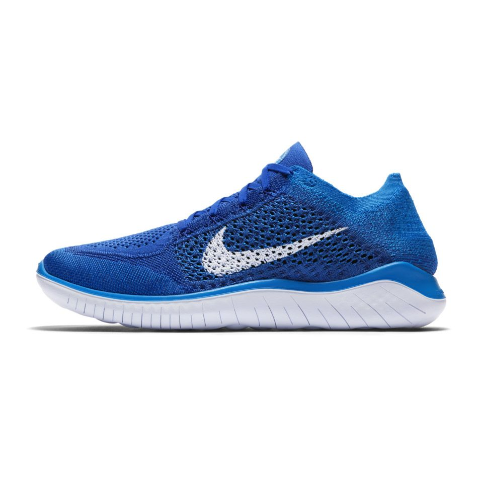 7a11504e452c2 Nike - Free Run Flyknit 2018 Running Shoe Men royal at Sport Bittl Shop