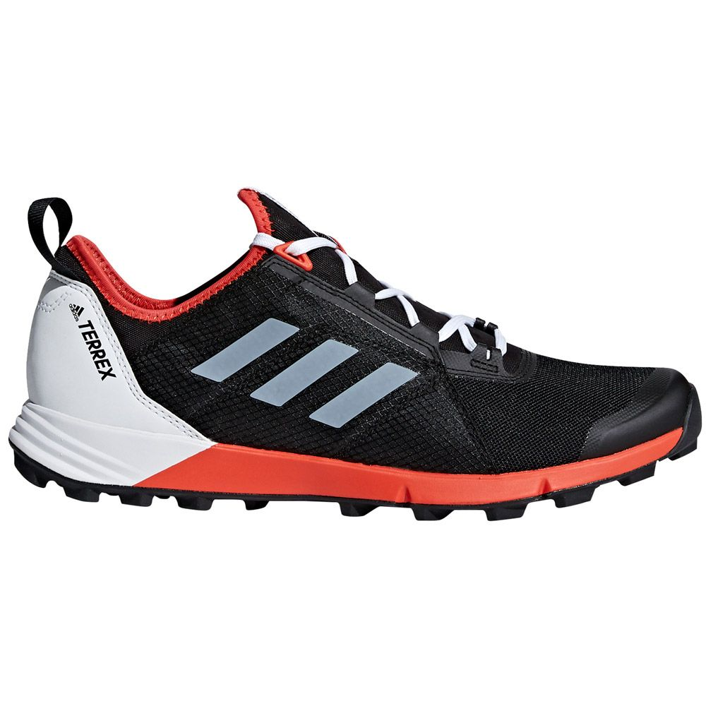 87a0604d149032 adidas Terrex Agravic Speed Running Shoes Men core black ftwr white hi-res  red