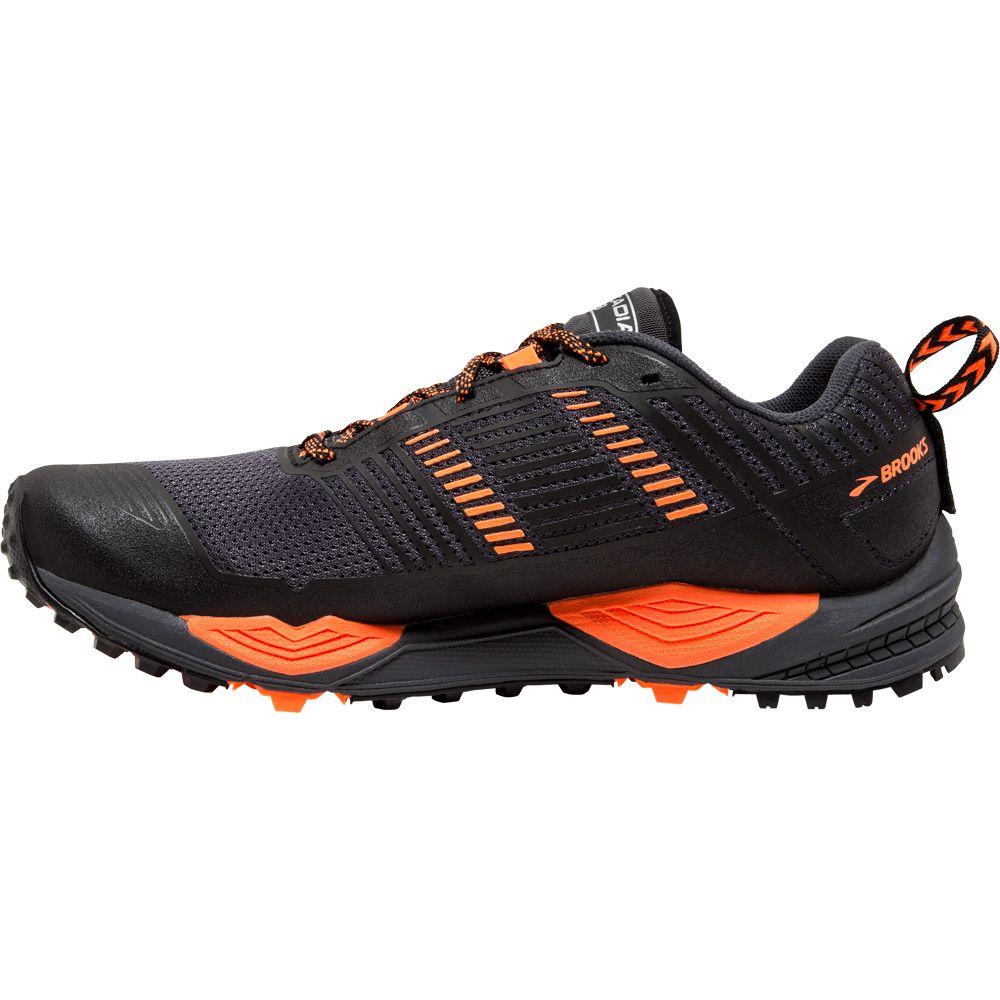 Grau 13 Laufschuhe Herren Brooks Orange Schwarz Cascadia OkiTPlwuXZ