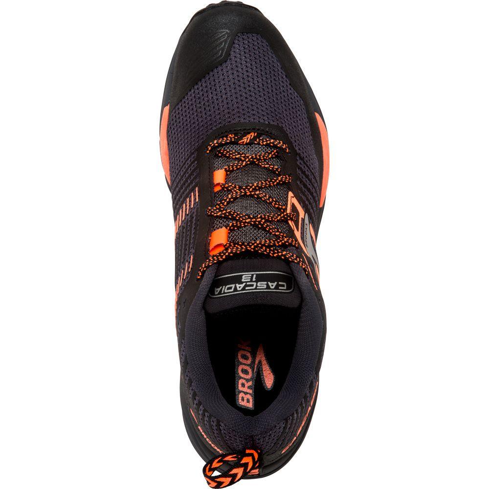 2d3fbe4834c Brooks - Cascadia 13 Running Shoes Men grey black orange at Sport ...