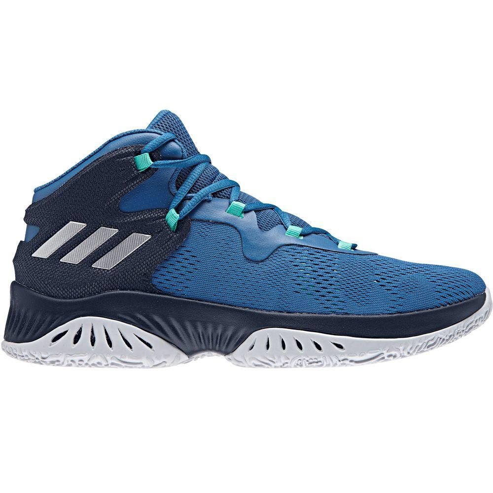adidas Explosive Bounce Basketballschuhe Herren blau