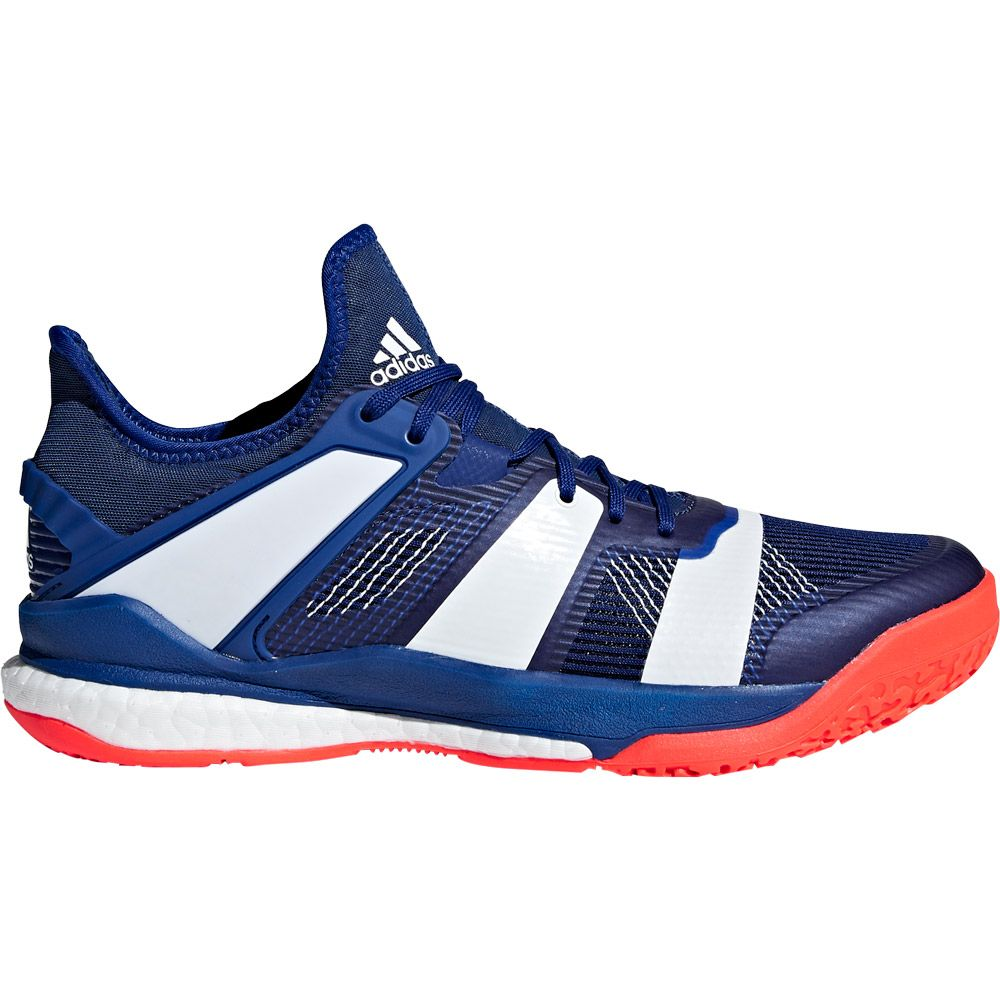 adidas Stabil X Handball Shoes Men mystery ink footwear white solar red