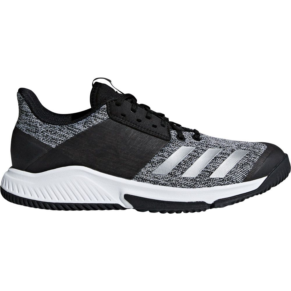 adidas Crazyflight Team Volleyball Shoes Men core black silver met footwear white