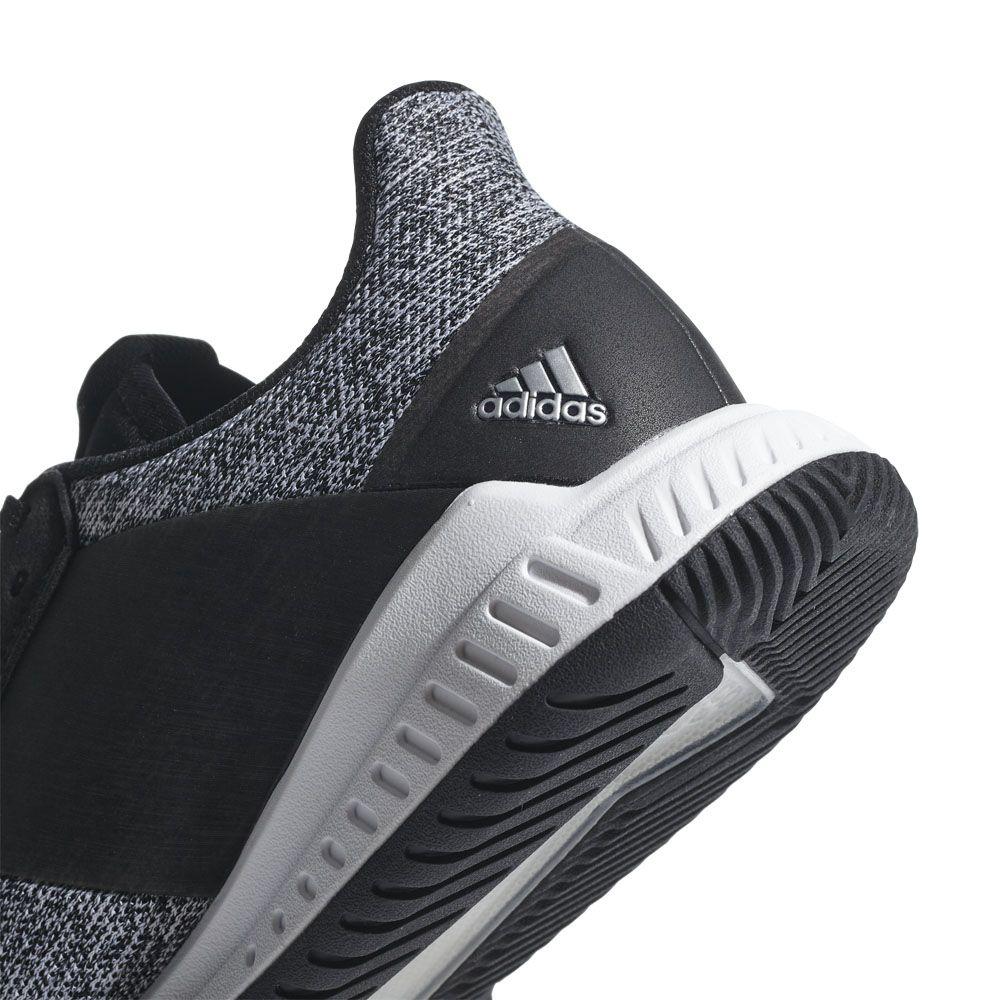 Crazyflight Adidas Team Shoes Volleyball Men White Black Met Core Silver Footwear 8XwnP0Ok