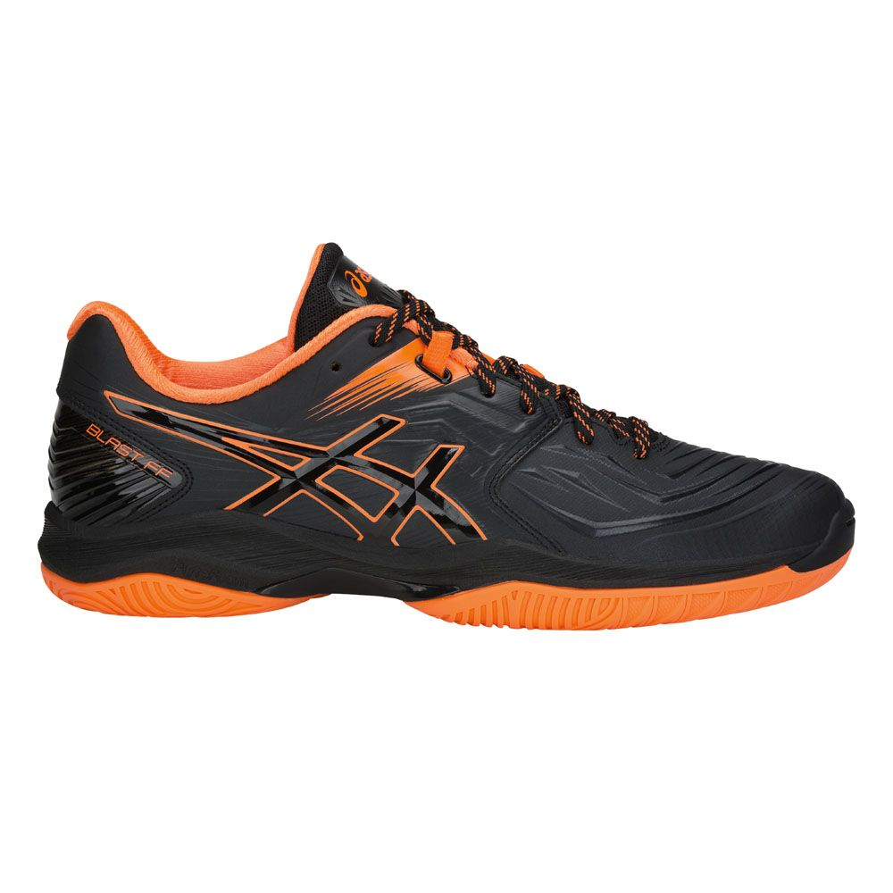 herren ASICS BLAST FF Volleyballschuh blackshocking orange