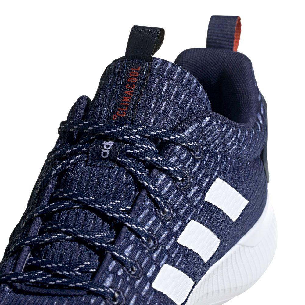 separation shoes 32964 5c1a9 Cloudfoam Lite Racer Climacool Shoes Men dark blue footwear white active  orange