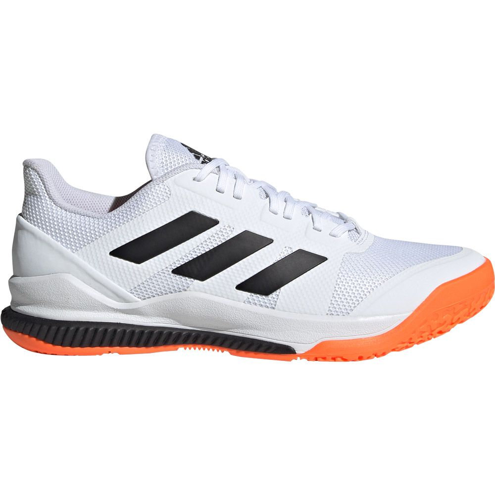 adidas Court Stabil Handball Shoes Kids white core black