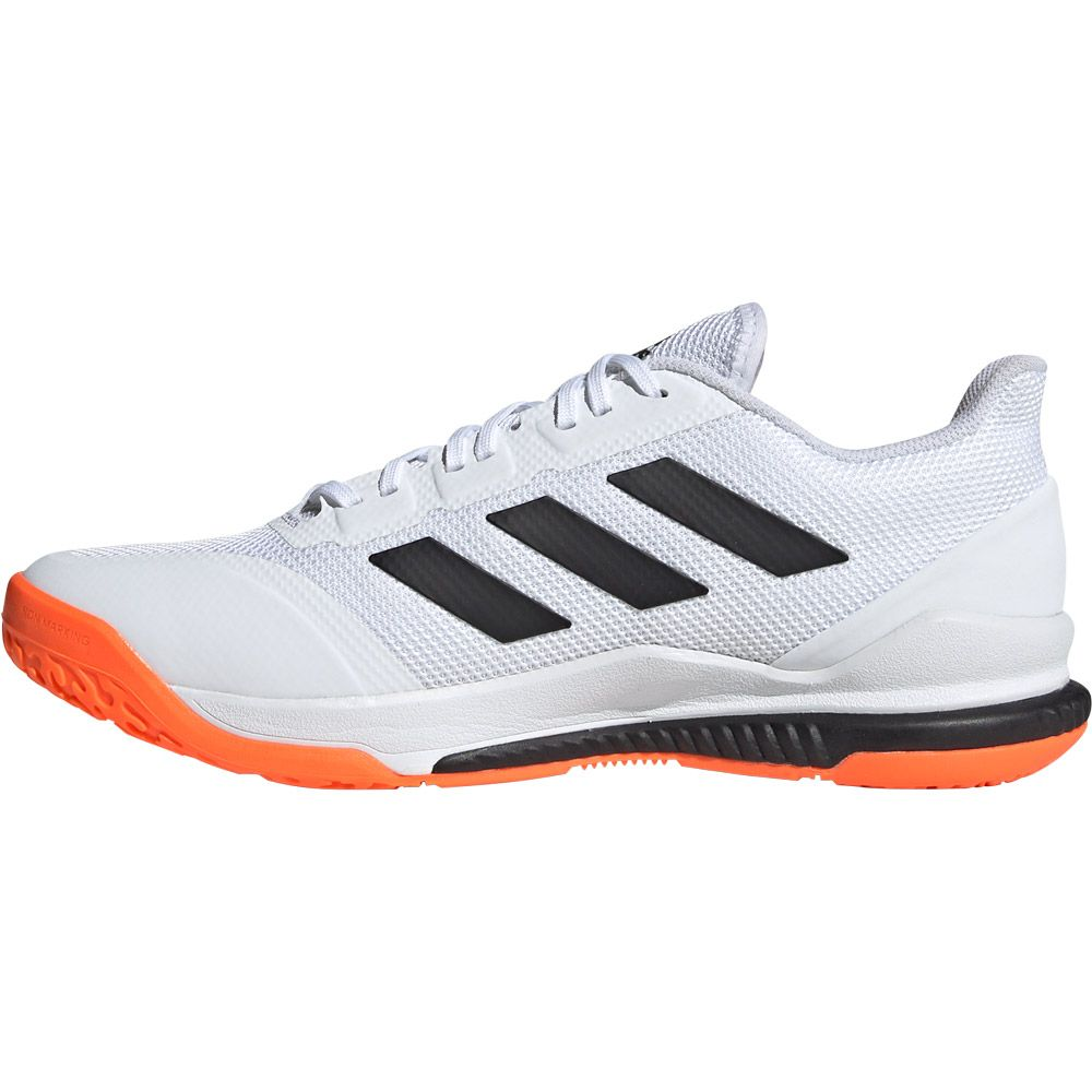 adidas Stabil Bounce Shoes Men footwear white core black solar orange