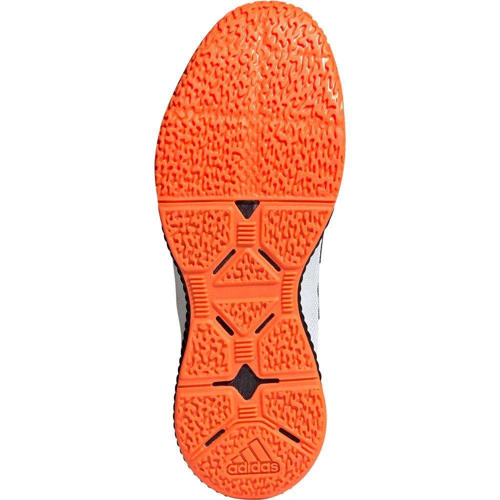 adidas Stabil Bounce Schuhe Herren footwear white core black solar orange