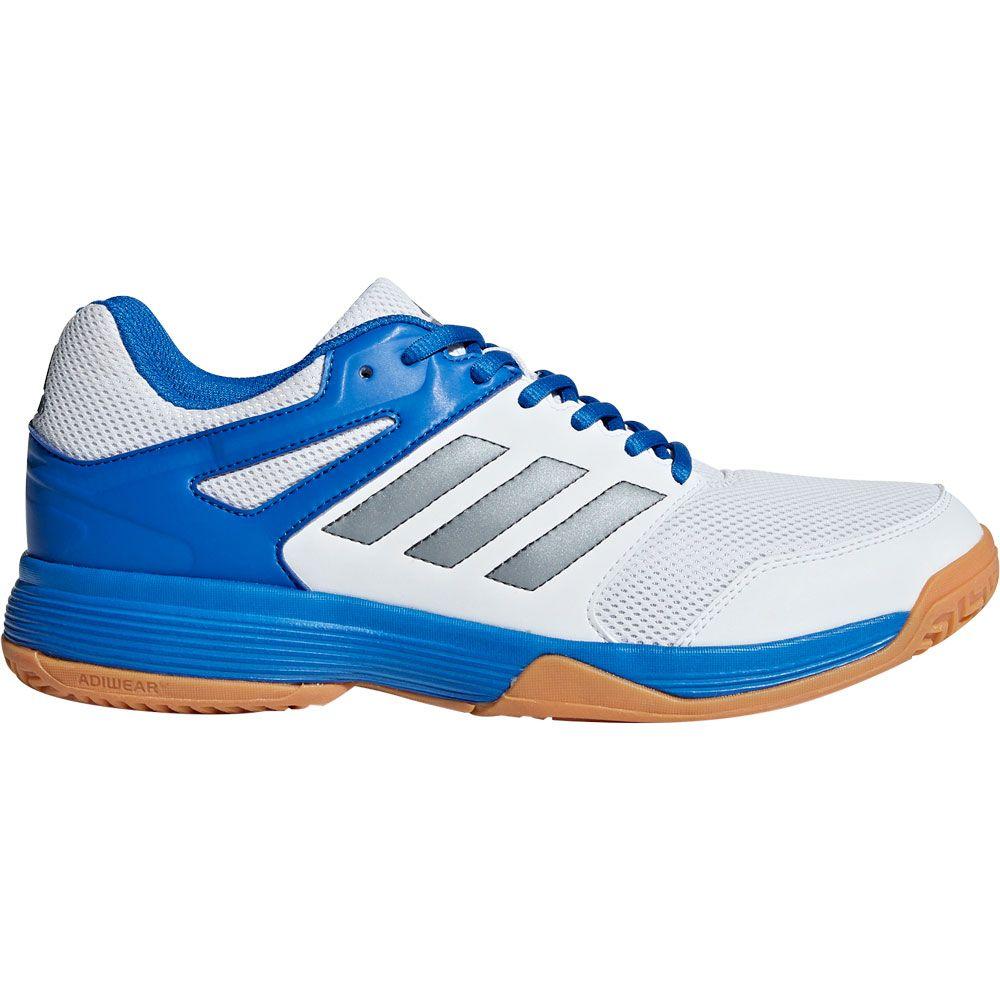 adidas Speedcourt Hallenschuhe Herren footwear white night met blue