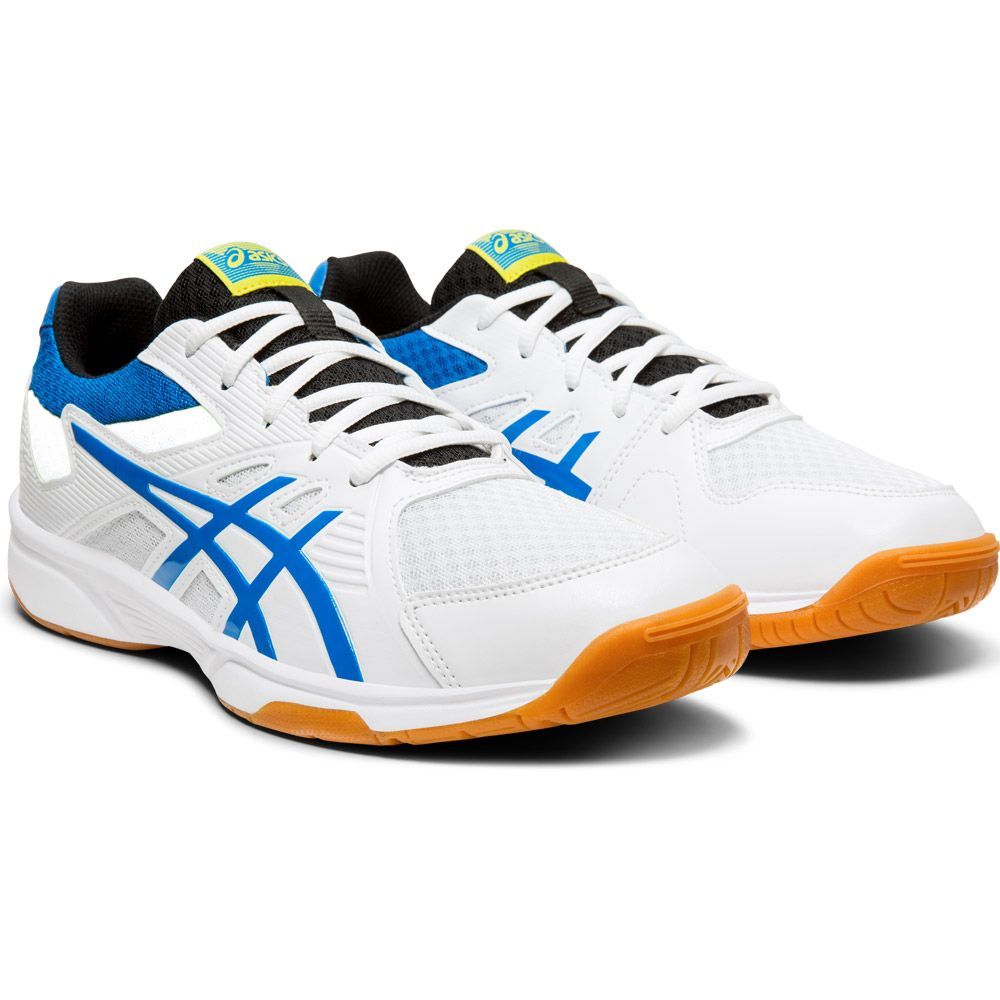 ASICS Upcourt 3 Volleyballschuhe Herren white electric blue
