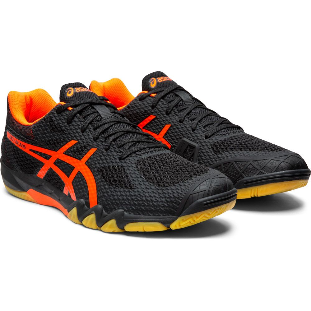 ASICS - Gel-Blade 7 Indoor Shoes Men black shocking orange