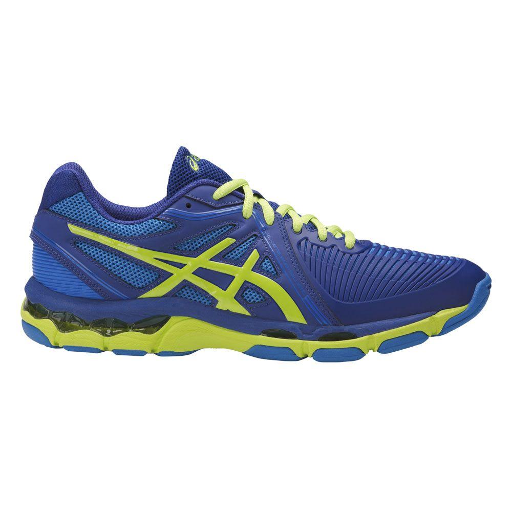 ASICS Gel Netburner Ballistic indoor shoes men limoges energy green directoire blue