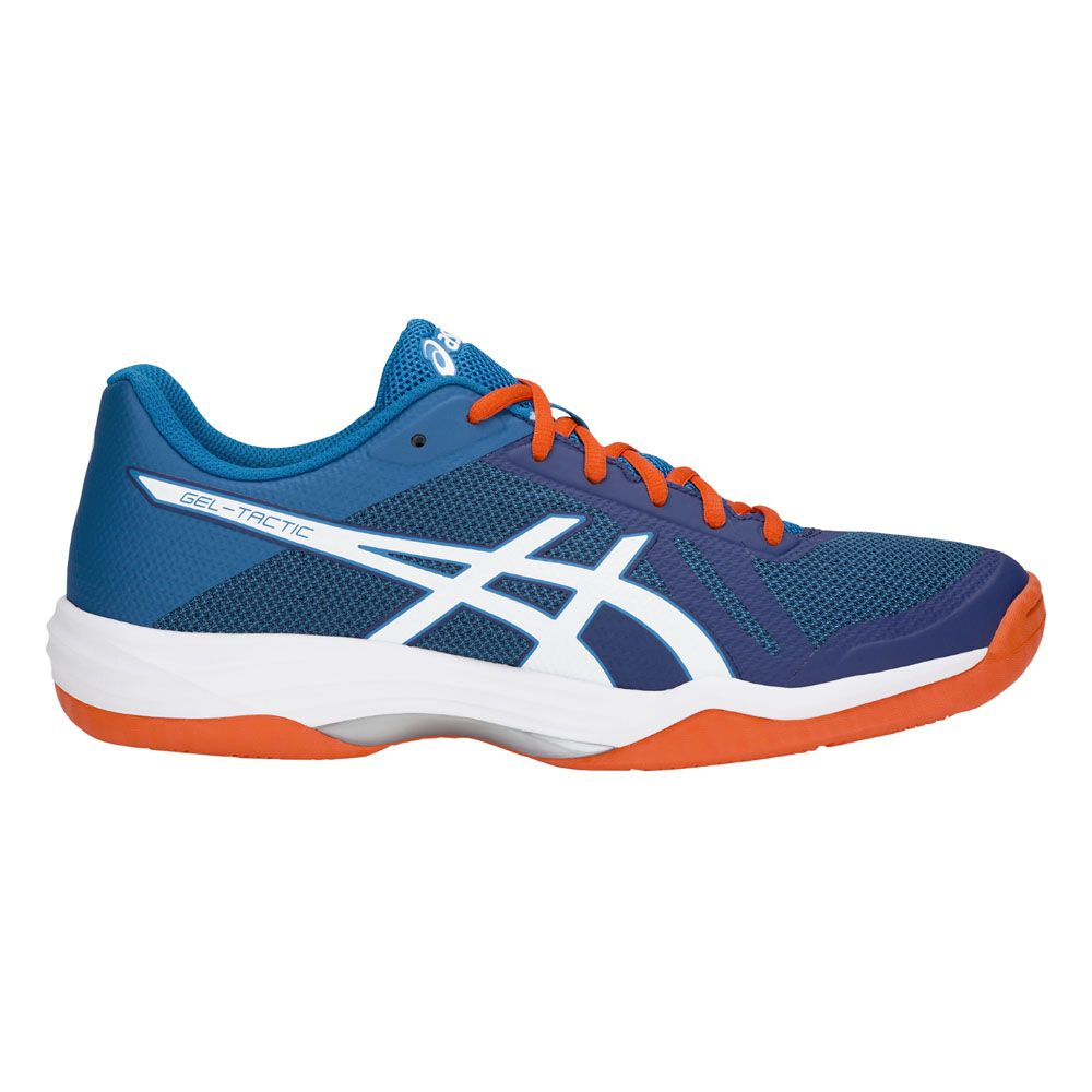 competitive price 166d4 b10e7 ASICS Gel-Tactic Indoor Shoes Men blue print