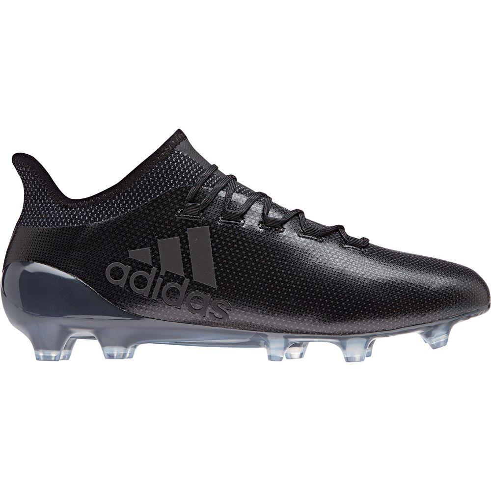 X 17.1 FG Football Shoes Men core black super cyan