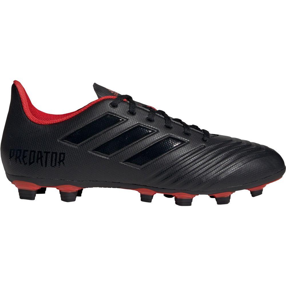 adidas Predator 19.4 FxG Fußballschuhe Herren core black active red