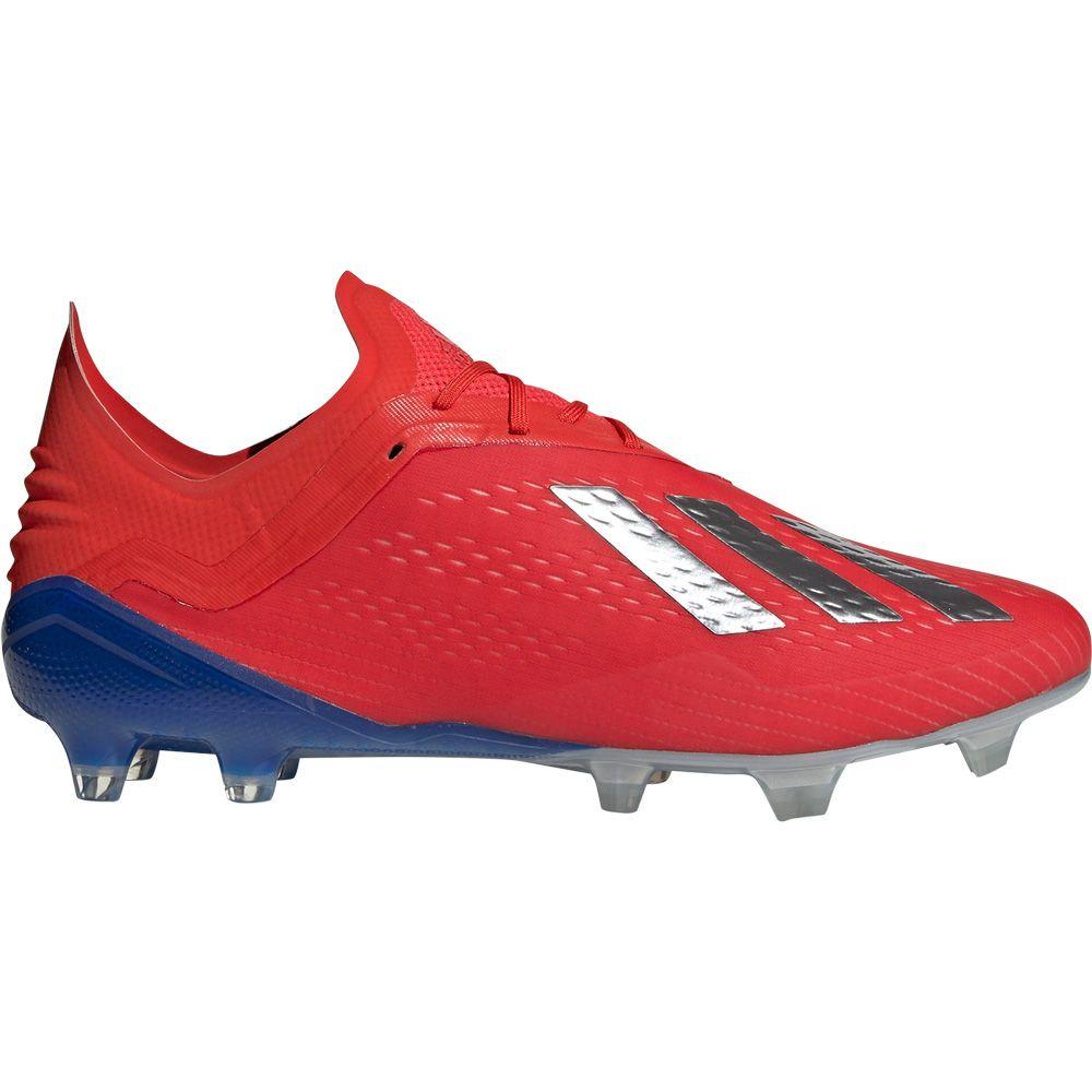 Reposición sarcoma pasaporte  adidas - X 18.1 FG Football Shoes Men active red silver met bold blue at  Sport Bittl Shop