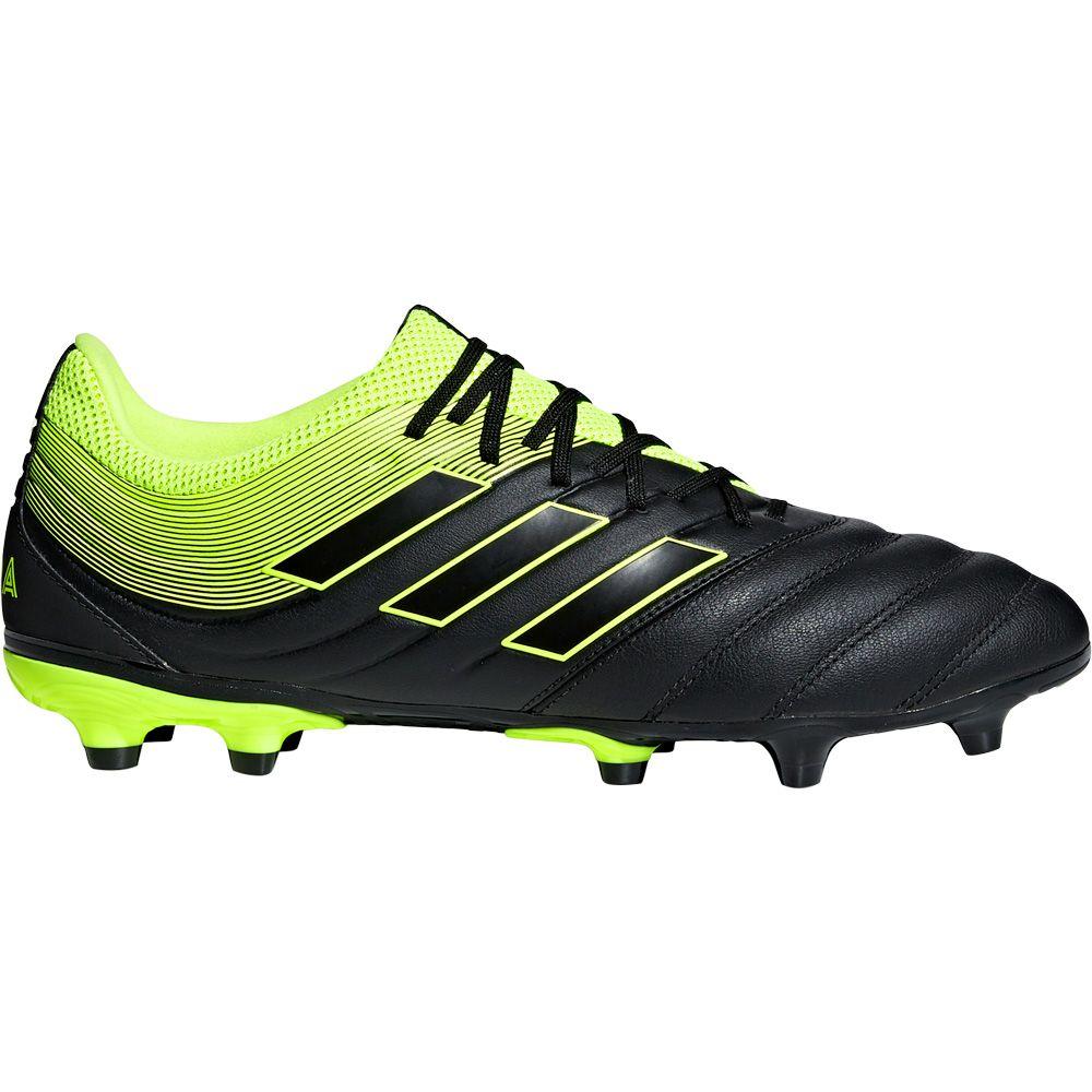 adidas Copa 19.3 FG Fußballschuhe Herren core black solar yellow