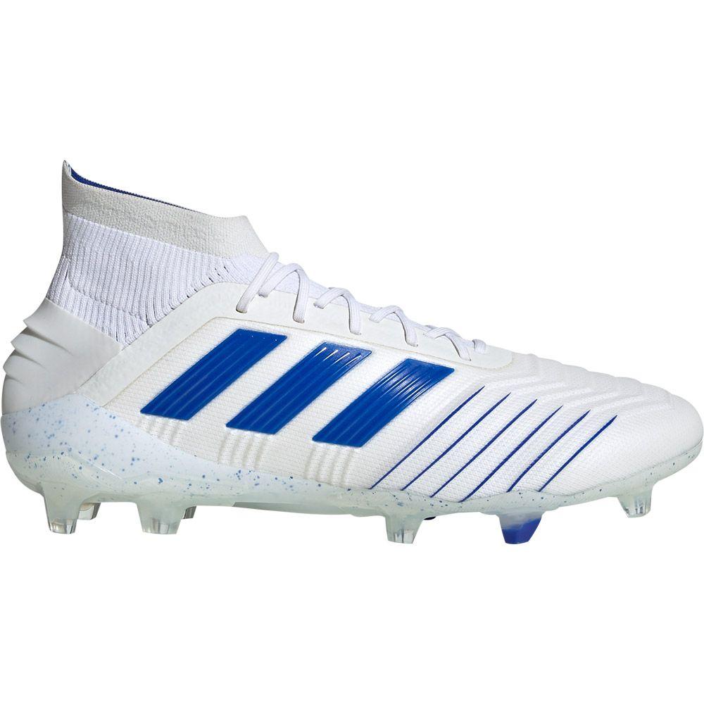 adidas Predator 19.1 FG Football Shoes Men footwear white bold blue