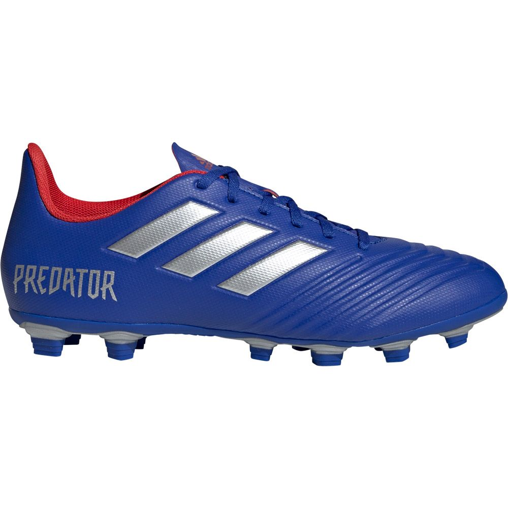 Apelar a ser atractivo Mendigar desierto  adidas - Predator 19.4 FxG Football Shoes Men bold blue silver met active  red at Sport Bittl Shop