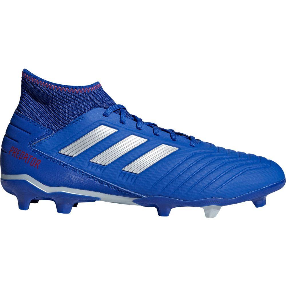 996762dbb0b adidas Predator 19.3 FG Football Shoes Men bold blue silver met active red