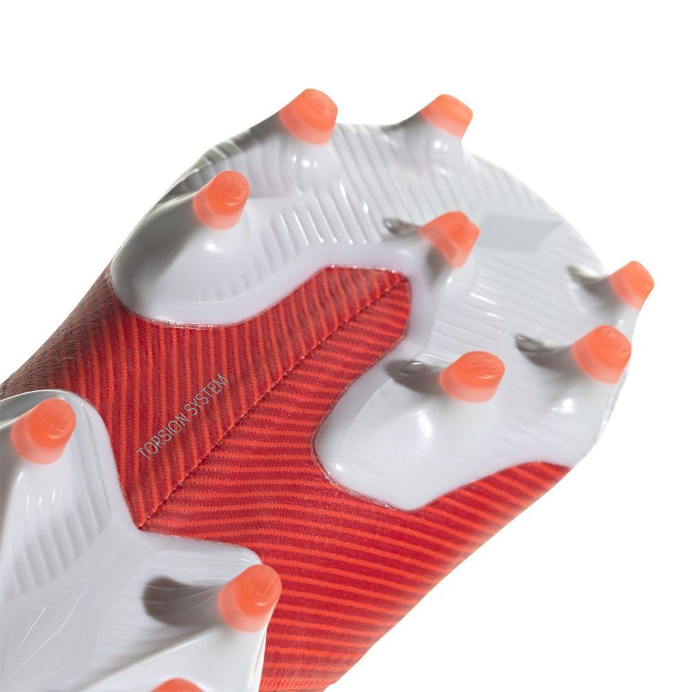 adidas Nemeziz 19.1 Firm Ground Boots Men active red silver metallic solar red