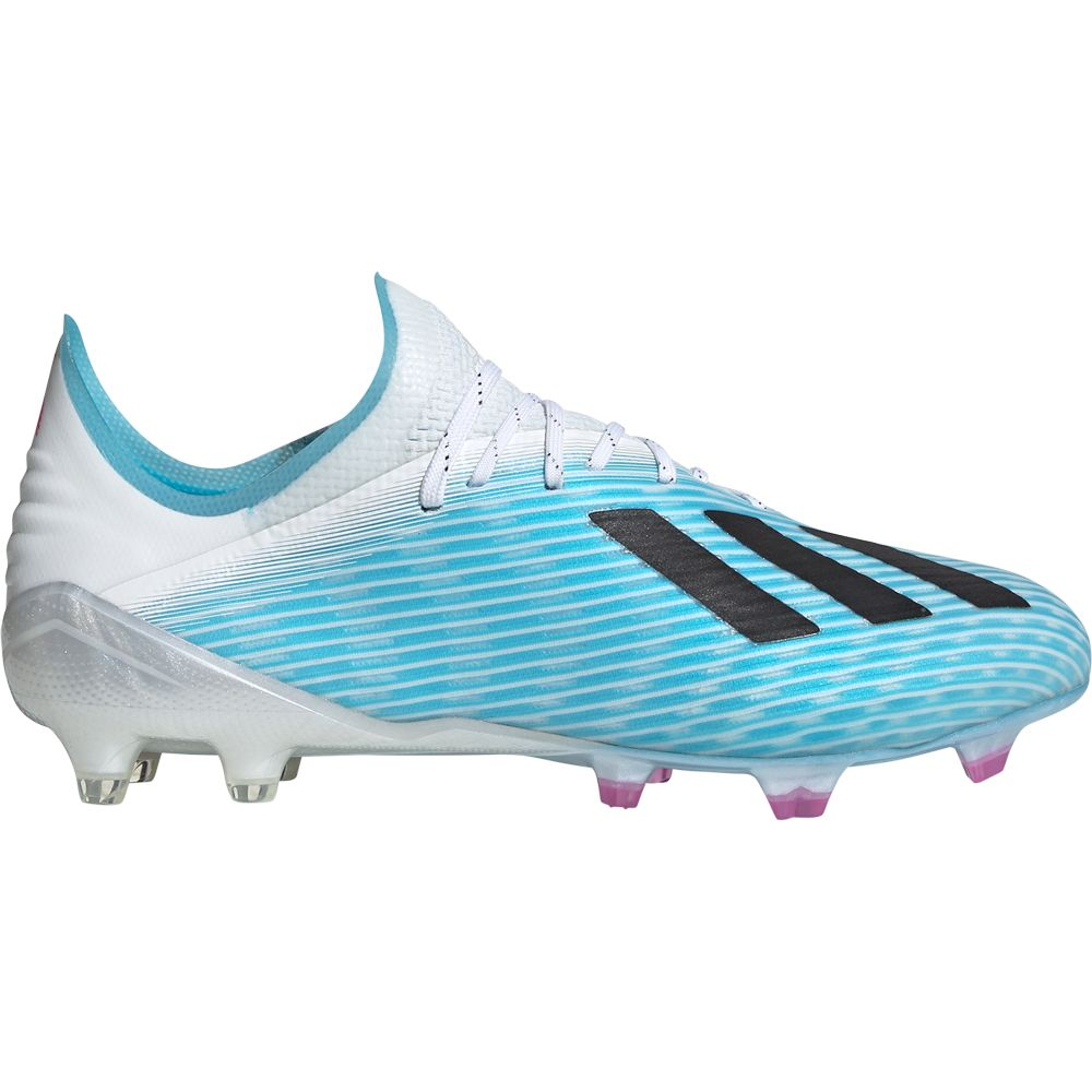 adidas X 19.1 FG Football Shoes Men bright cyan core black shock pink