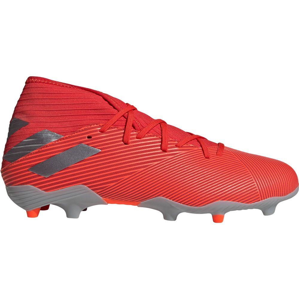 adidas Nemeziz 19.3 FG Football Shoes Men active red silver metallic solar red