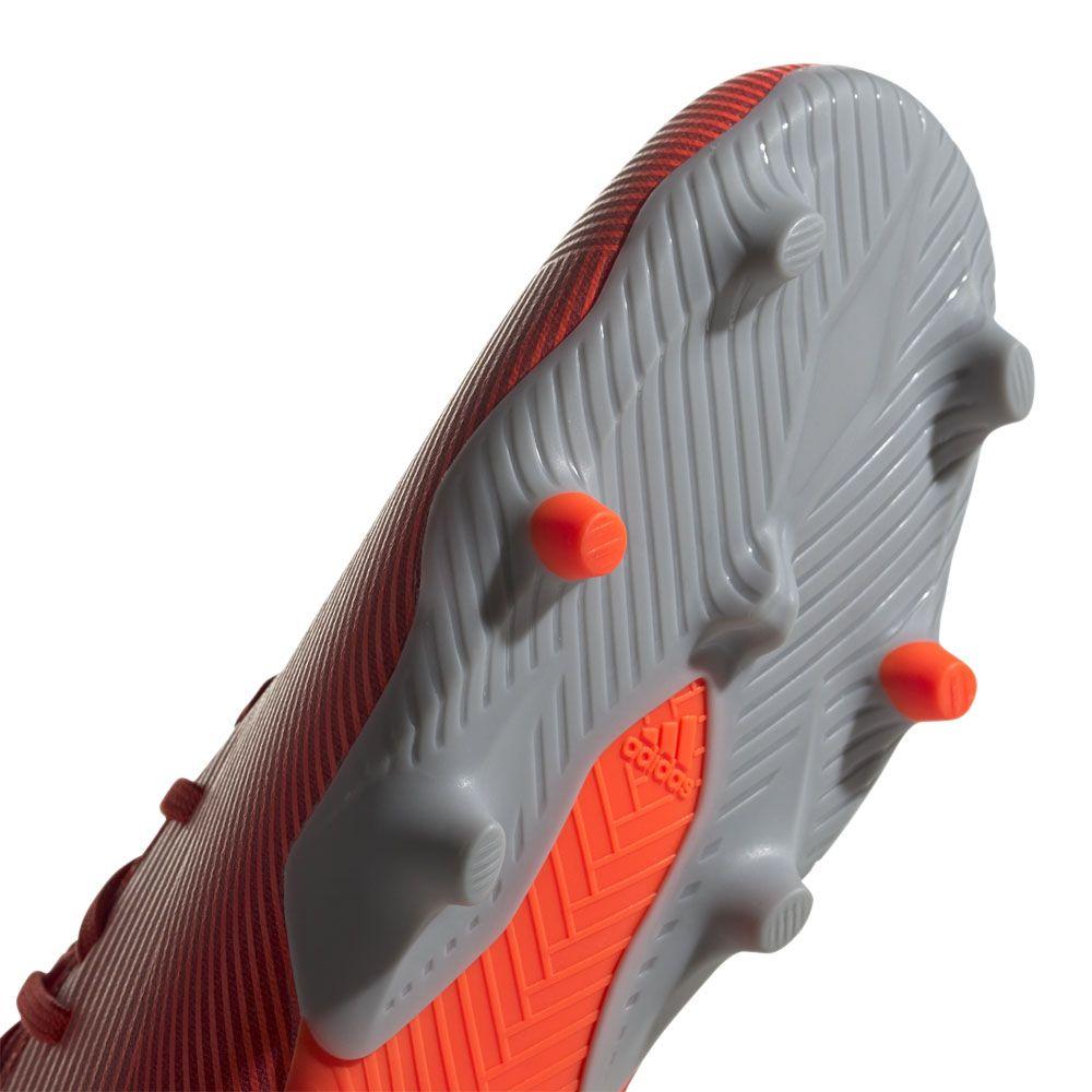 da64f23d622 Nemeziz 19.3 FG Football Shoes Men active red silver metallic solar red.  adidas