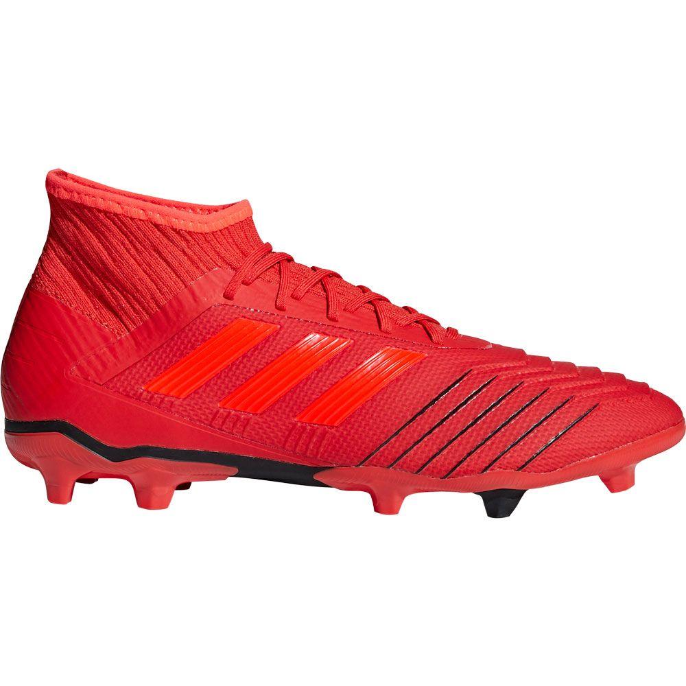 9ba887870e95e adidas Predator 19.2 FG Football Shoes Men active red solar red core black