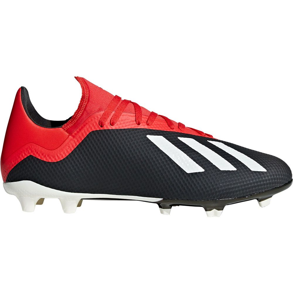13382433b078d adidas - X 18.3 FG Football Shoes Men core black off white active ...