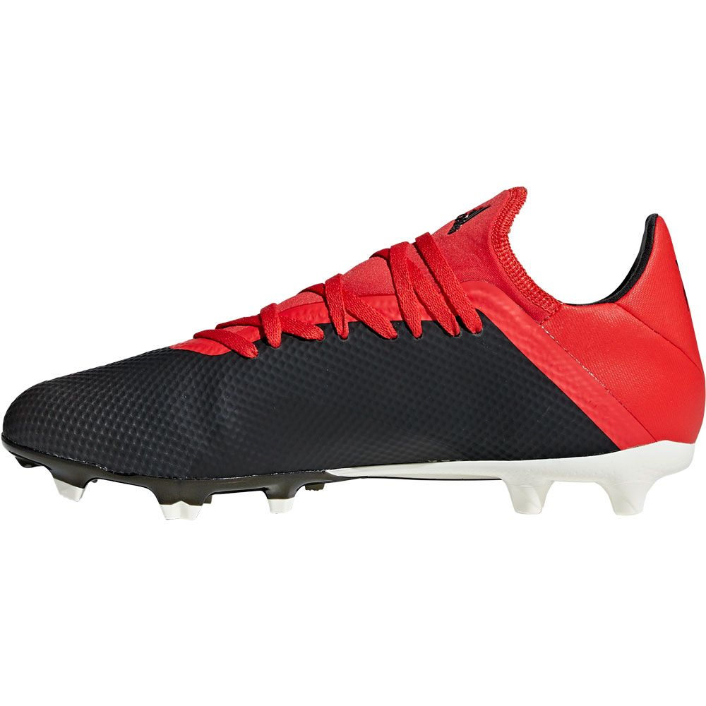adidas X 18.3 FG Football Shoes Men core black off white active red