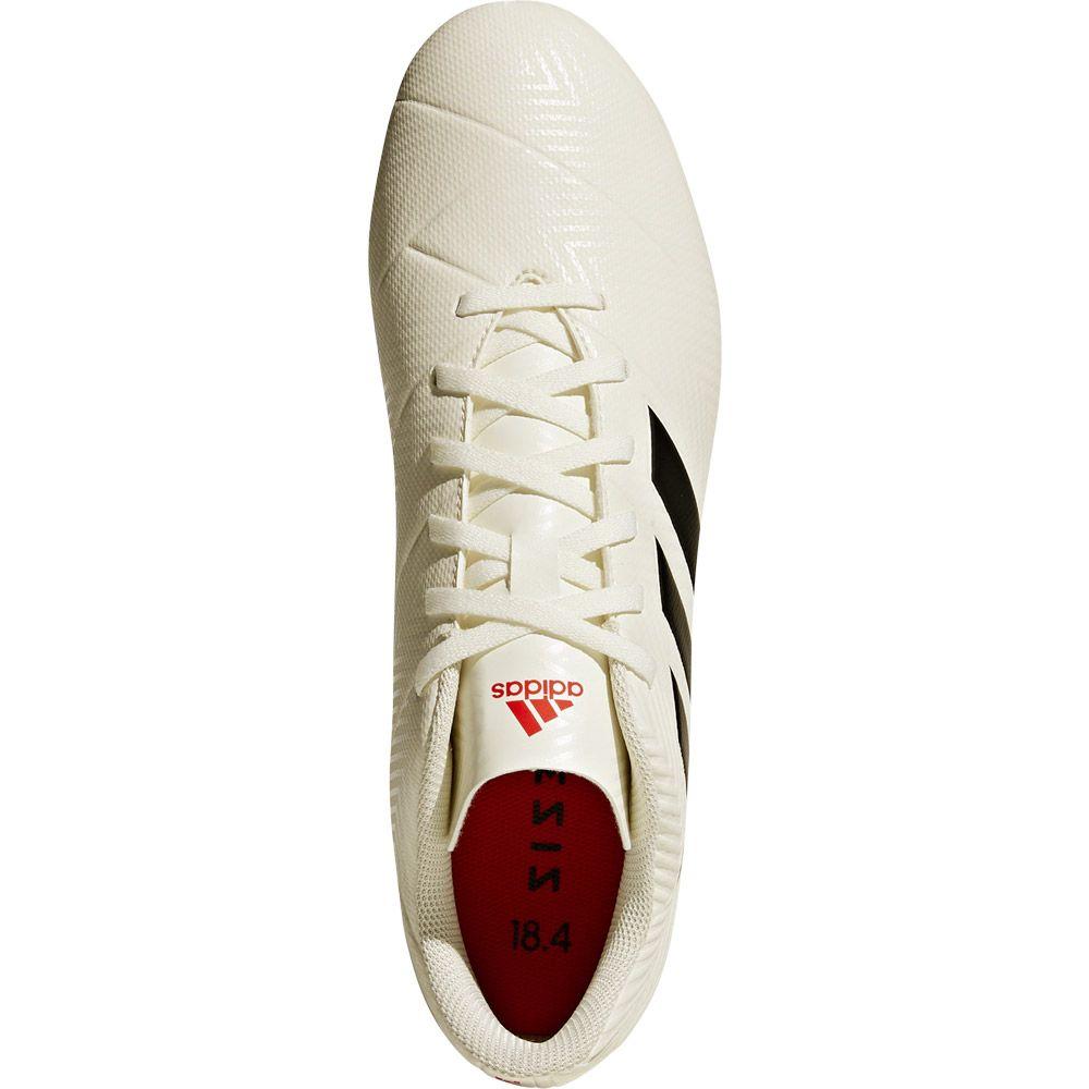 best website 500c6 644c8 Nemeziz 18.4 FxG Football Shoes Men off white core black active red