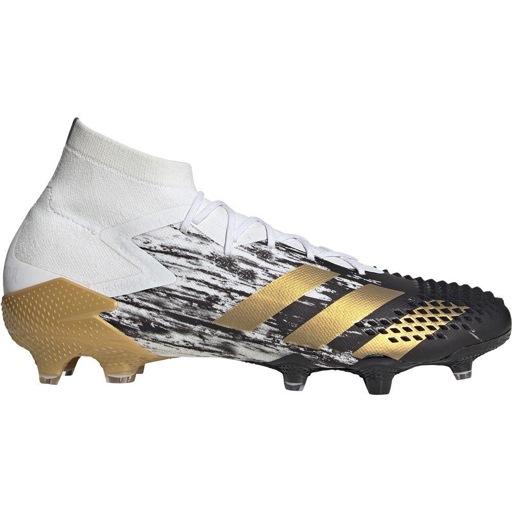 Adidas Predator Mutator 20 1 Fg Football Shoes Men Footwear White Gold Metallic Core Black At Sport Bittl Shop