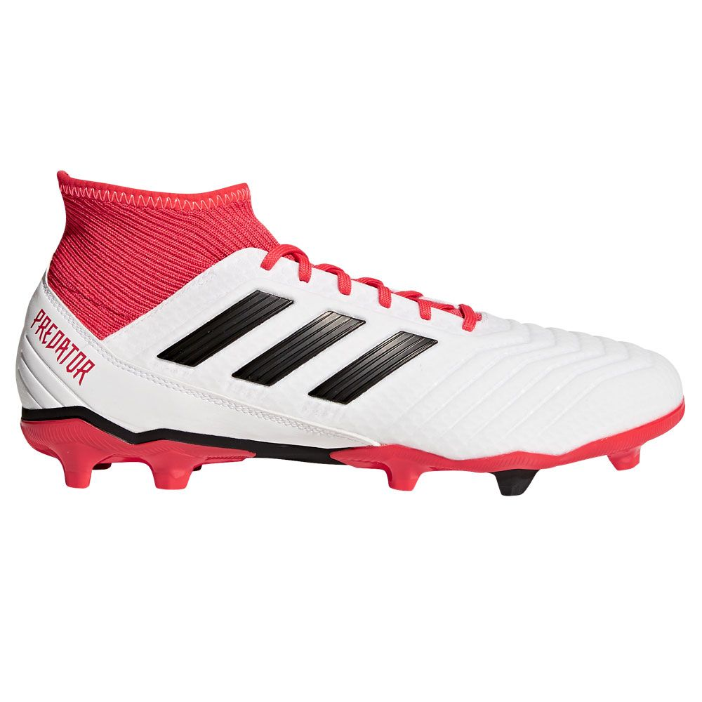 95e25751c1df0 adidas Predator 18.3 FG Football Shoes Men ftwr white core black real coral