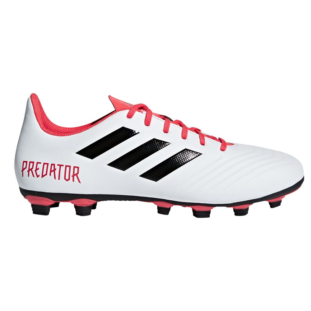 finest selection a20b6 ff384 adidas Predator 18.4 FxG Football Shoes Men ftwr white core black real coral