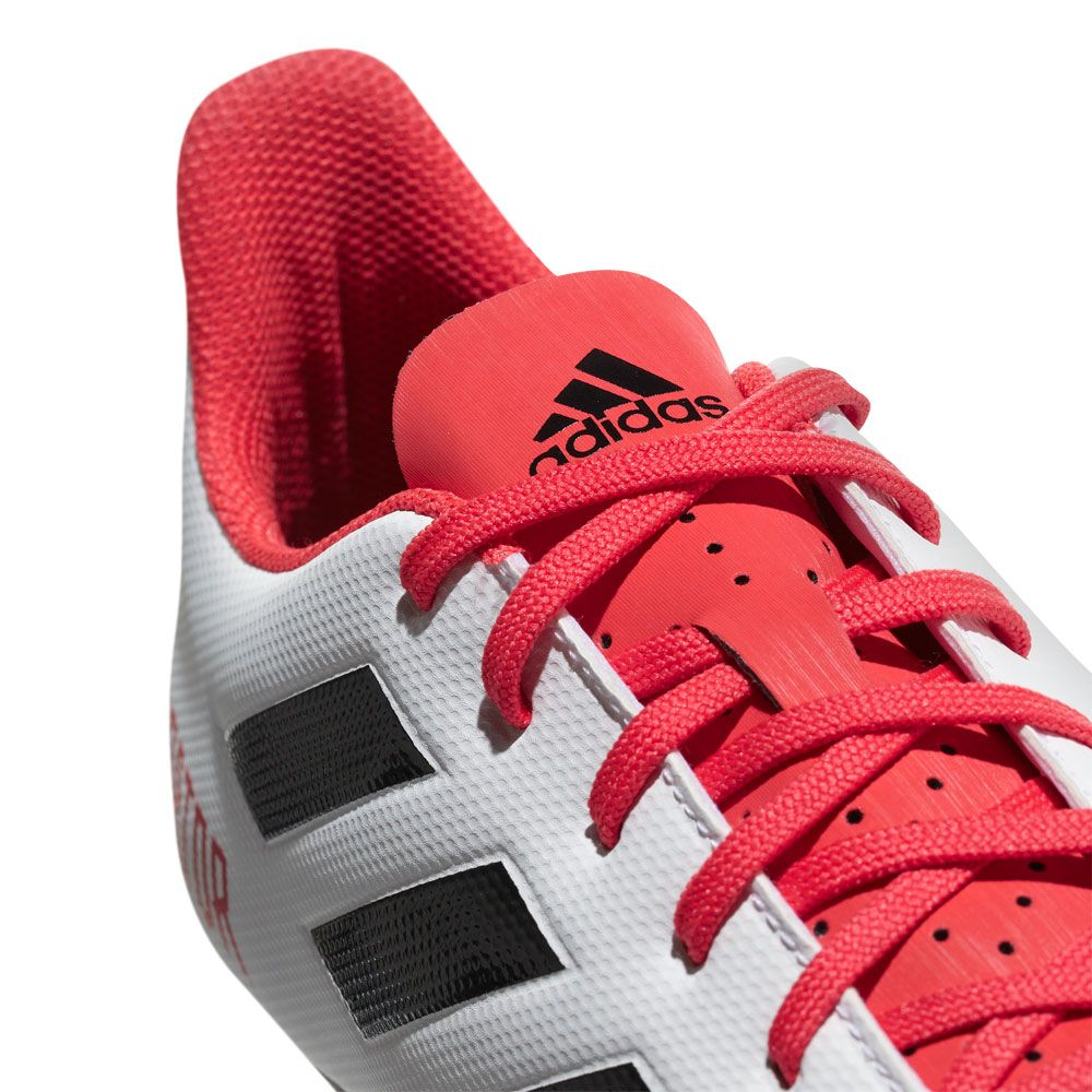 ... adidas boots 82cfb e4405 where can i buy predator 18.4 fxg football  shoes men ftwr white core black real coral ... 54894862f