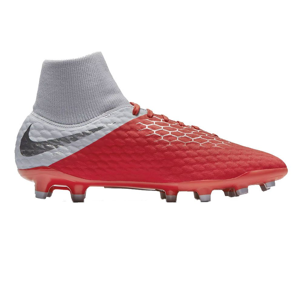 41522e58f Nike - Hypervenom Phantom III Academy DF FG football shoes men grey ...
