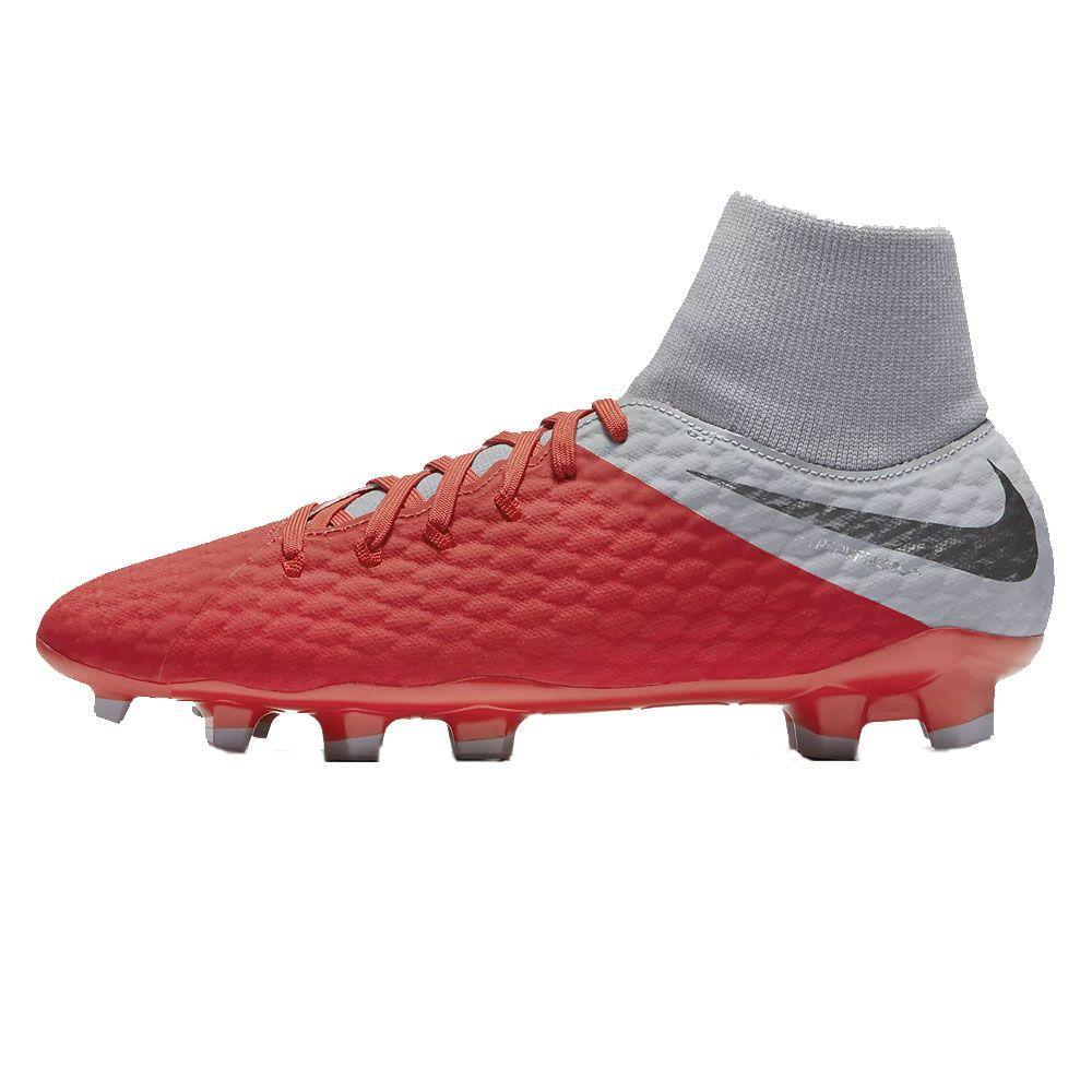 130fdeb67 Nike - Hypervenom Phantom III Academy DF FG football shoes men grey ...