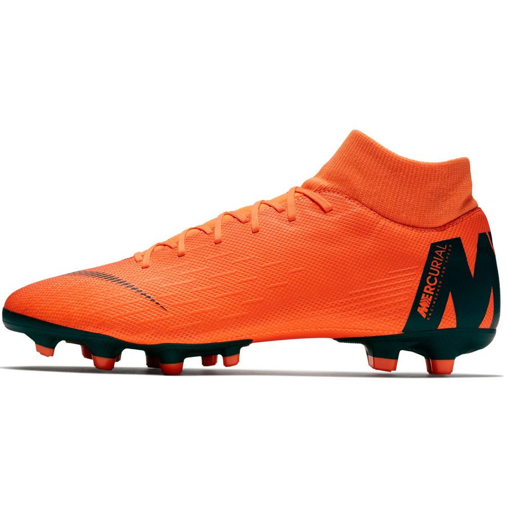 b170675e0 Nike Mercurial Superfly VI Academy MG Football Boots Men total orange volt  white