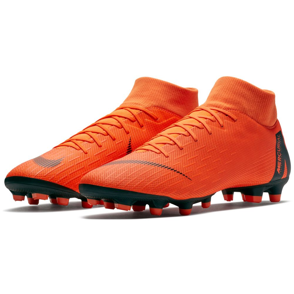 Mercurial Superfly VI Academy MG Football Boots Men total orange volt white