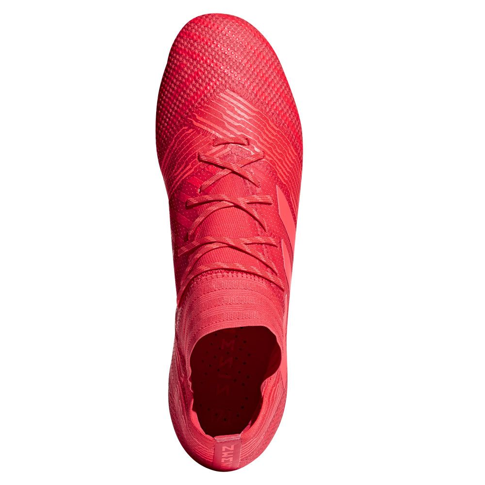 Nemeziz 17.1 FG football shoes men real coral