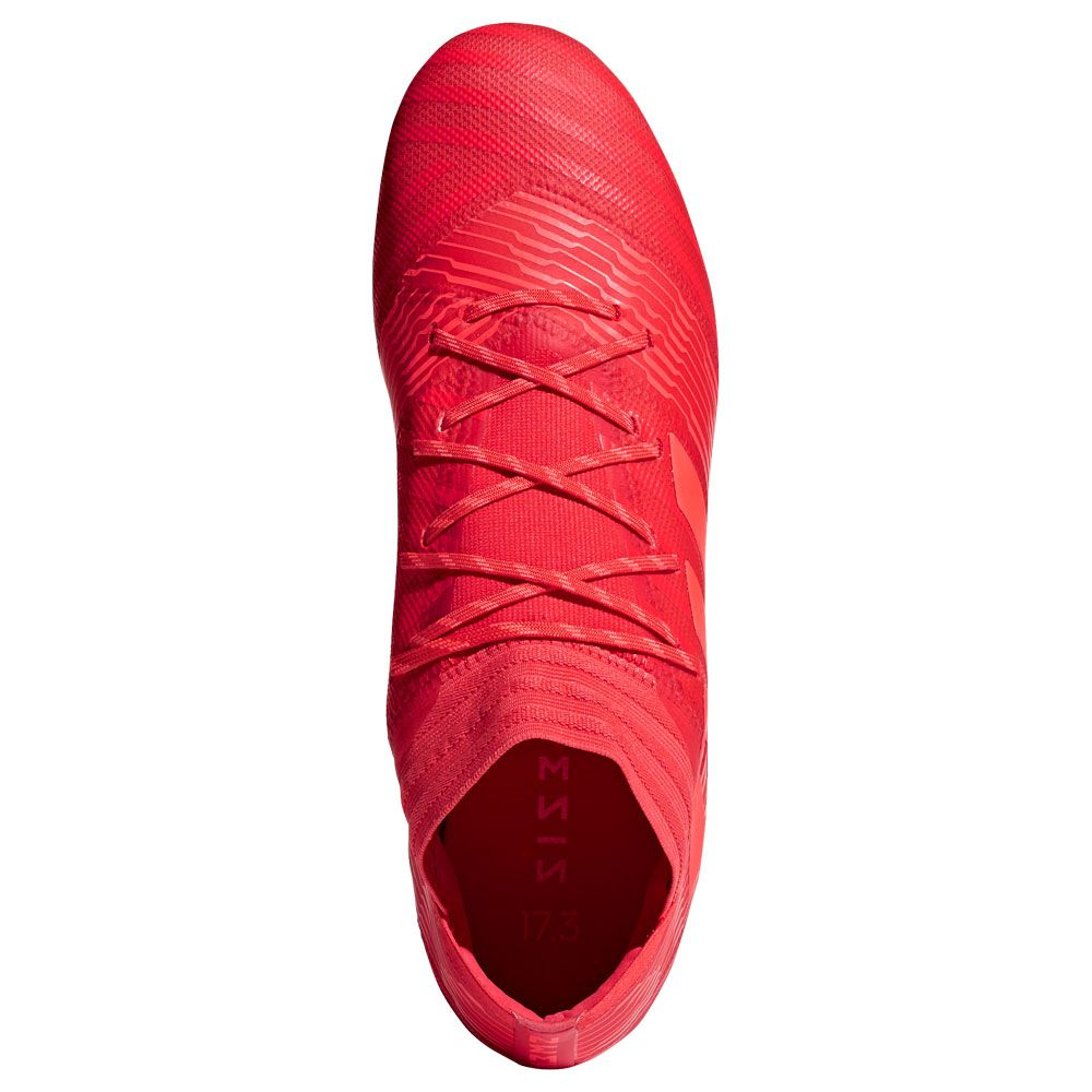 Nemeziz 17.2 FG football shoes men real coral