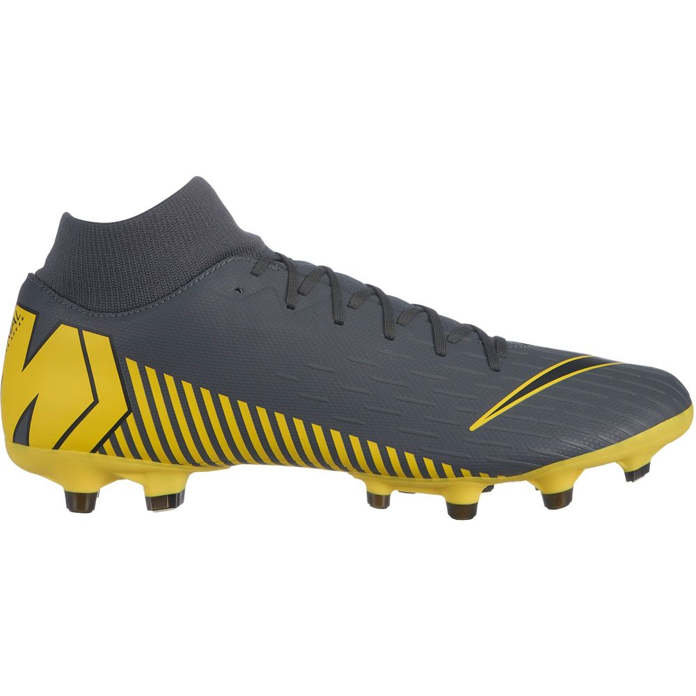 brand new 024e8 3023a Nike - Mercurial Superfly 6 Academy MG Football Shoes Men dark grey black