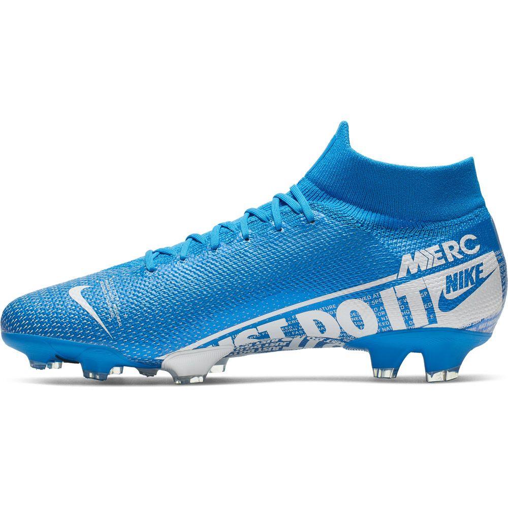 Nike Mercurial Superfly 7 Pro FG Fußballschuh Herren blue hero white obsidian