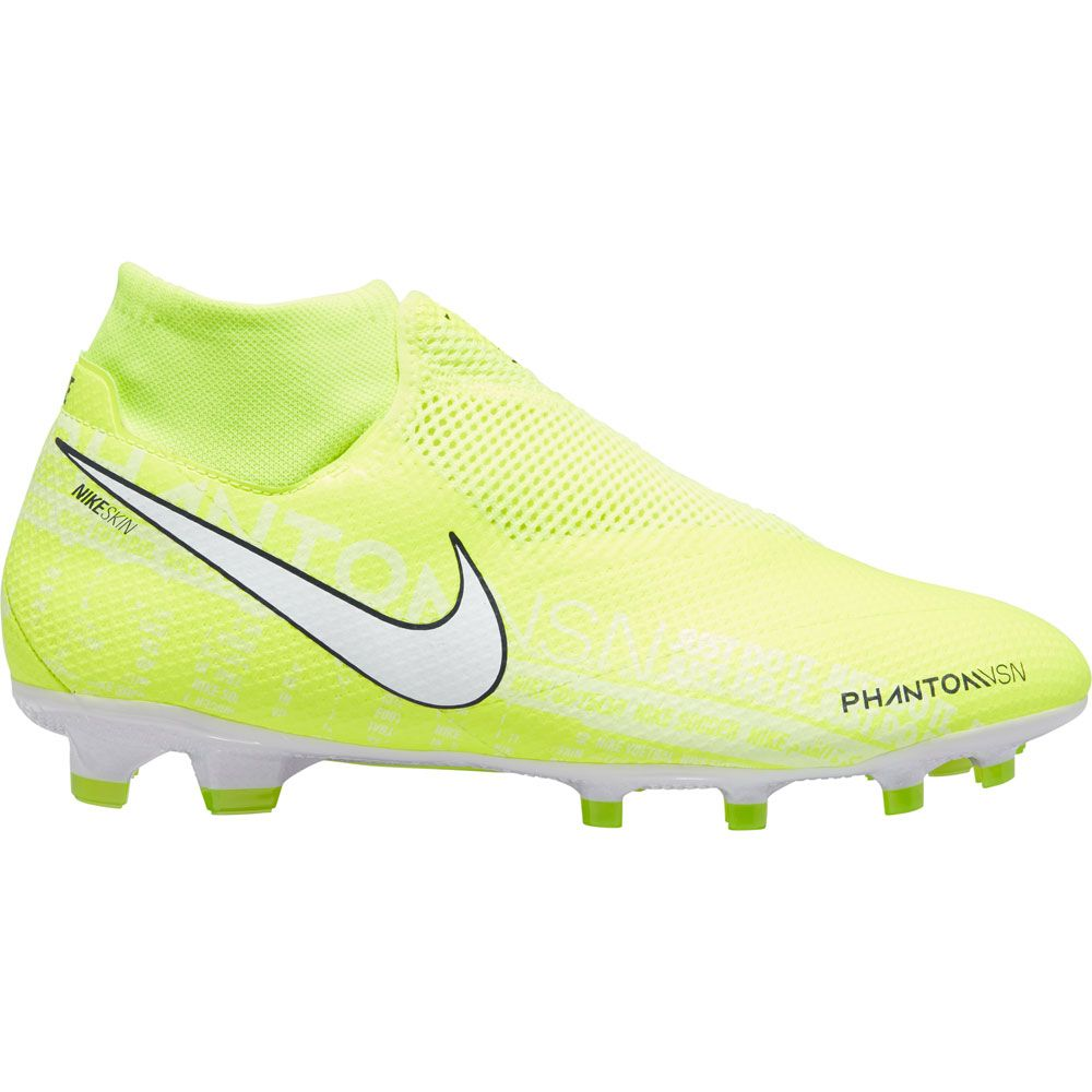 Cadena Faringe fantasma  Nike - Phantom Vision Academy Dynamic Fit Pro MG Soccer Shoes Men volt  white-volt at Sport Bittl Shop