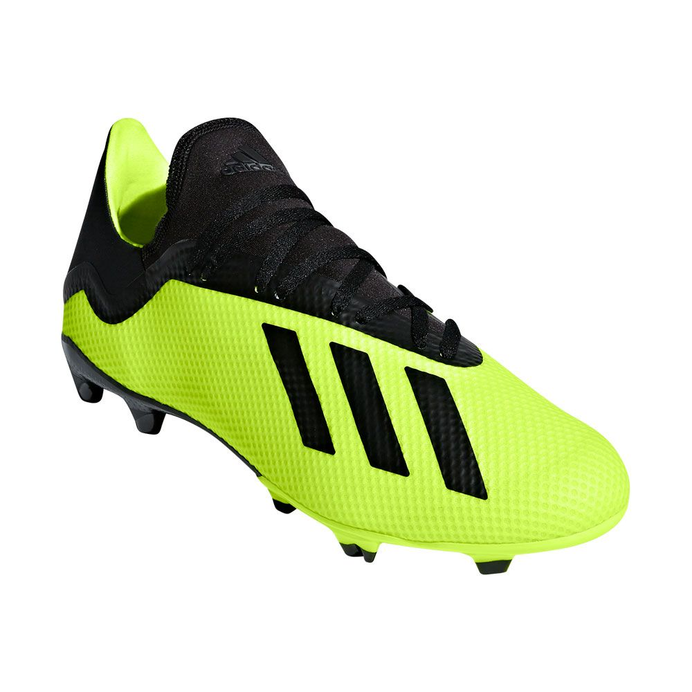 adidas X 18.3 FG football shoes men solar yellow