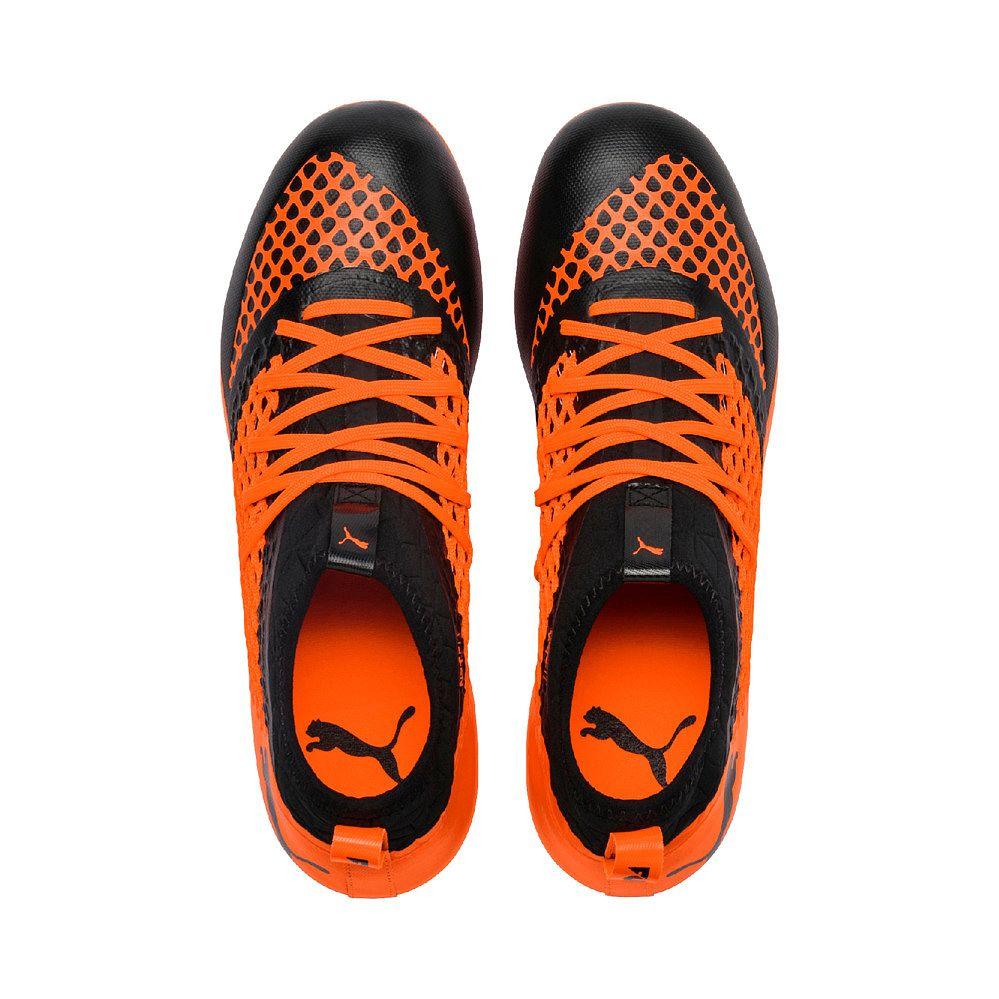 e199ef59ce2 Future 2.3 Netfit FG AG Football Shoes Men puma black shocking orange