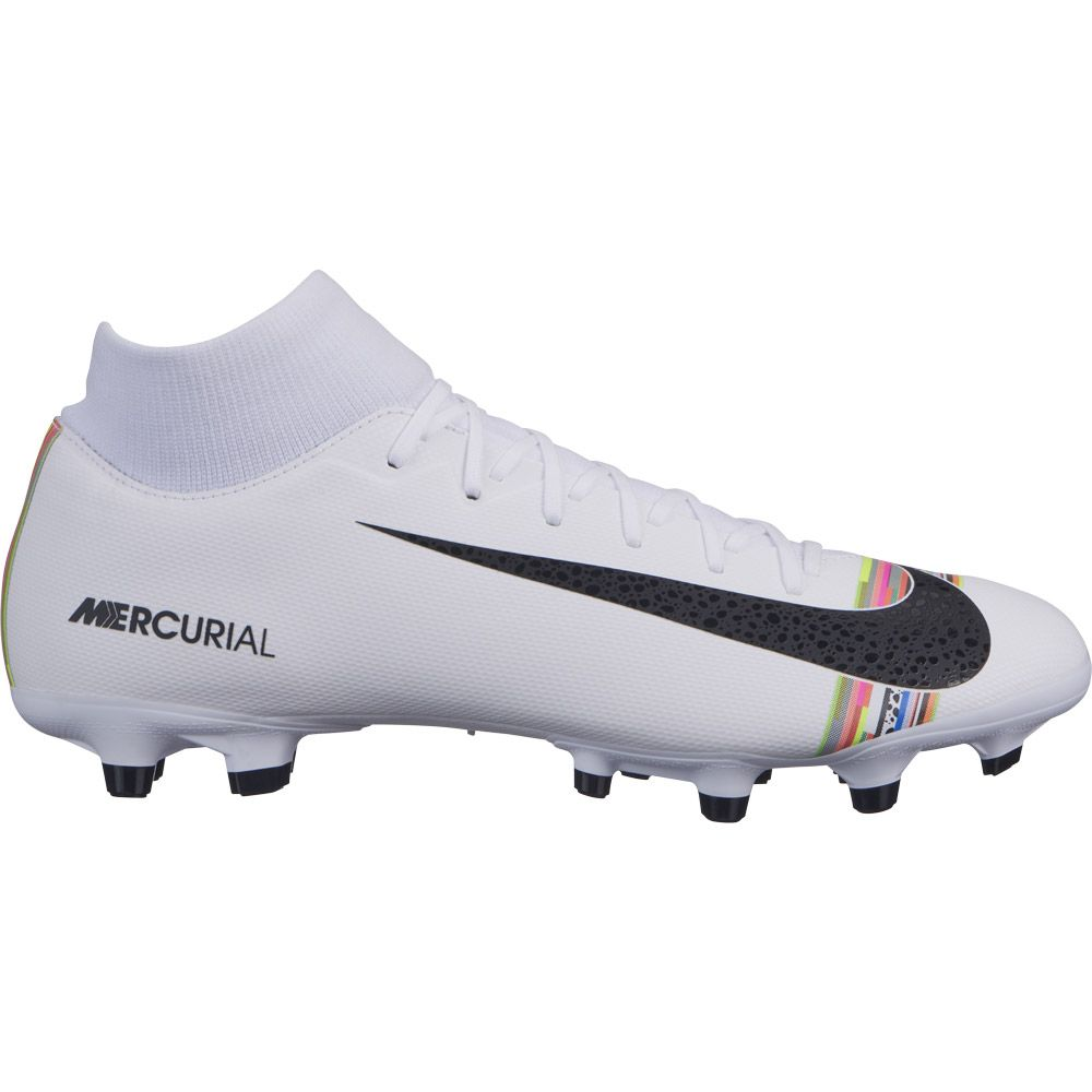 sale retailer 61547 f0025 Nike - Superfly VI Academy CR7 MG Football Boots Men white rainbow